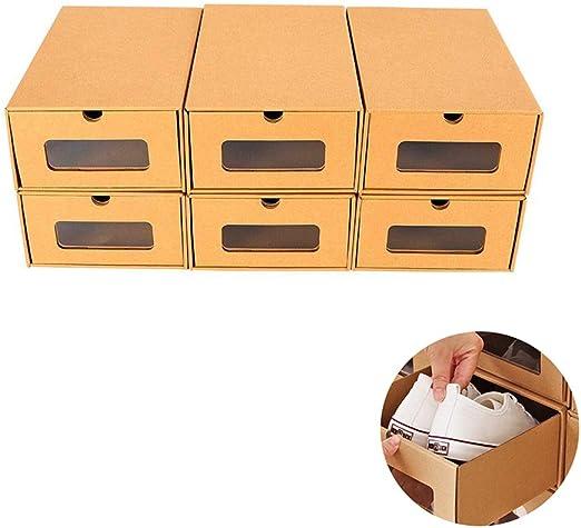 Z@SS Organizador de Calzado Cajas de cartón para Guardar Zapatos ...