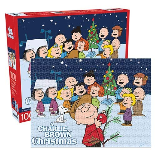 Aquarius Charlie Brown Christmas 1000 Pc Jigsaw Puzzle