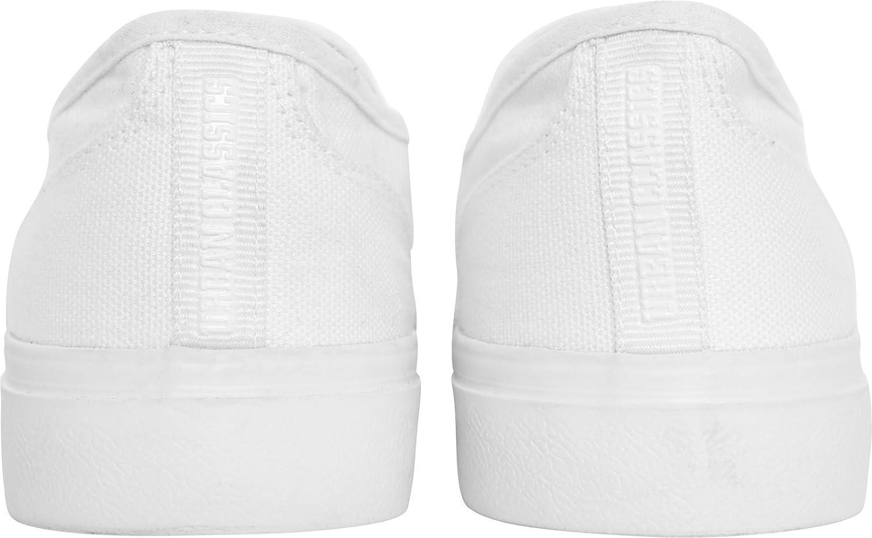 Urban Classics Low, Slip-On Sneaker Unisex-Adulto, Nero (Blk/Blk 00017), 37 EU