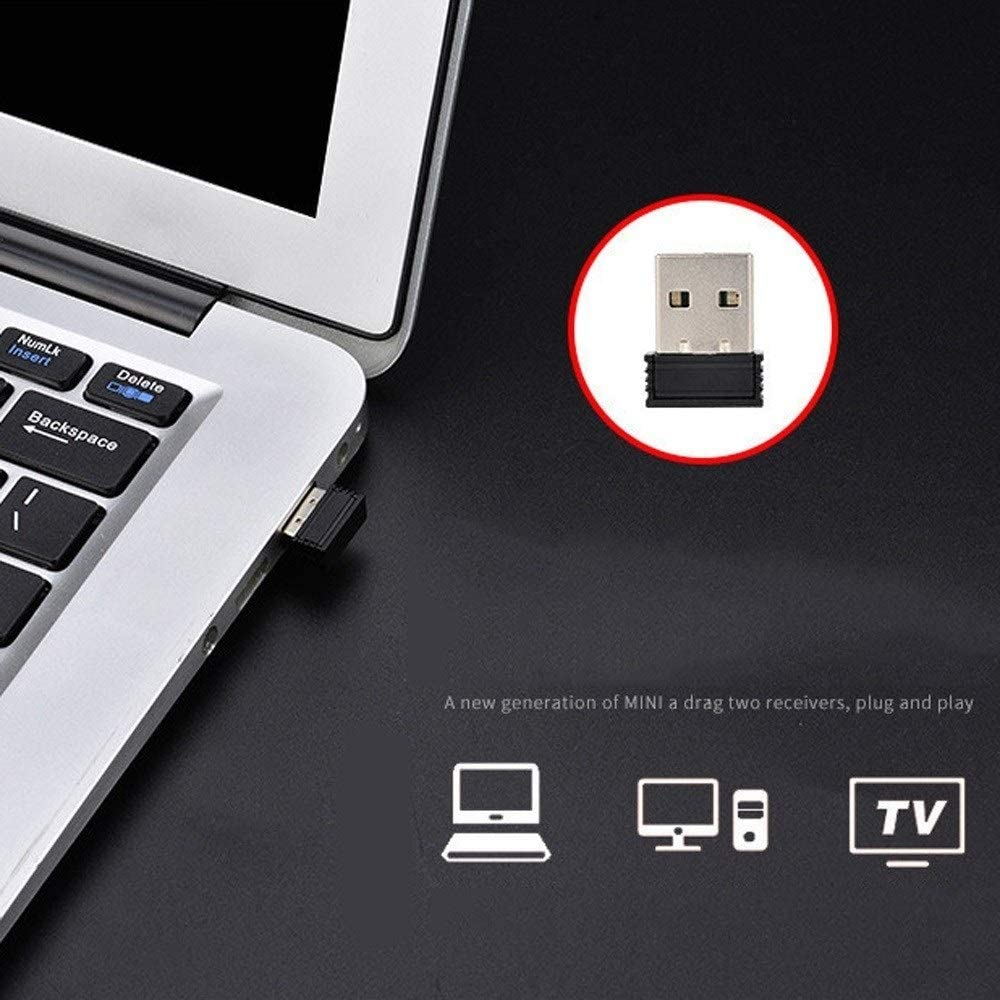 PC for Computer Laptop Desktop Mechanical Feel Esports Internet Cafes Cable Game Artifact Wireless USB Keyboard /& Mouse Notebook