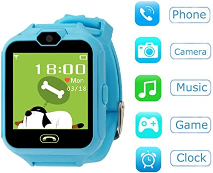 Hangang Smartwatch Orologio Kids Telefono Smart Game Orologi