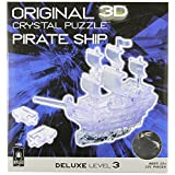 Crystal Puzzle - Deluxe Pirate Ship - Clear
