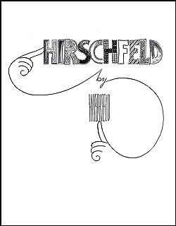 Hirschfeld On Line Al Hirschfeld 0073999247633 Amazoncom