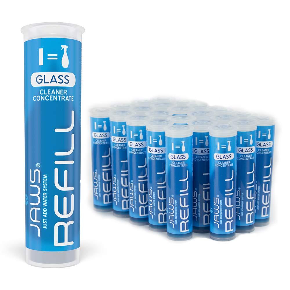 JAWS ガラスクリーナー 詰め替え用ポッド 24個入りボックス 非毒性で環境に優しいクリーニング製品。 B07KX5TXSP