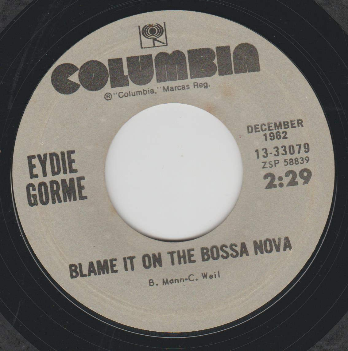 45vinyl Max 75% OFF BLAME IT ON THE BOSSA GET CAN'T NOVA Recommendation N OVER