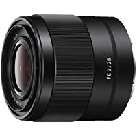 Sony SEL28F20 FE 28mm f/2-22 Standard-Prime Lens for Mirrorless Cameras