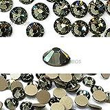 144 pcs Black Diamond (215) Swarovski 2058
