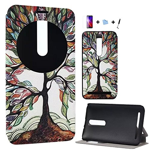 159 opinioni per TIODIO® 4 en 1 Custodia Flip Cover Pelle Stand per Asus Zenfone 2 ZE551ML
