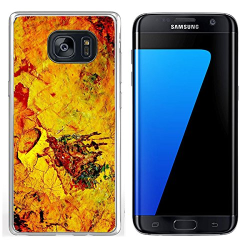 MSD Samsung Galaxy S7 Edge Clear case Soft TPU Rubber Silicone Bumper Snap Cases IMAGE ID: 3592597 dry oil paint on the painter s - Protect Reviews Painters