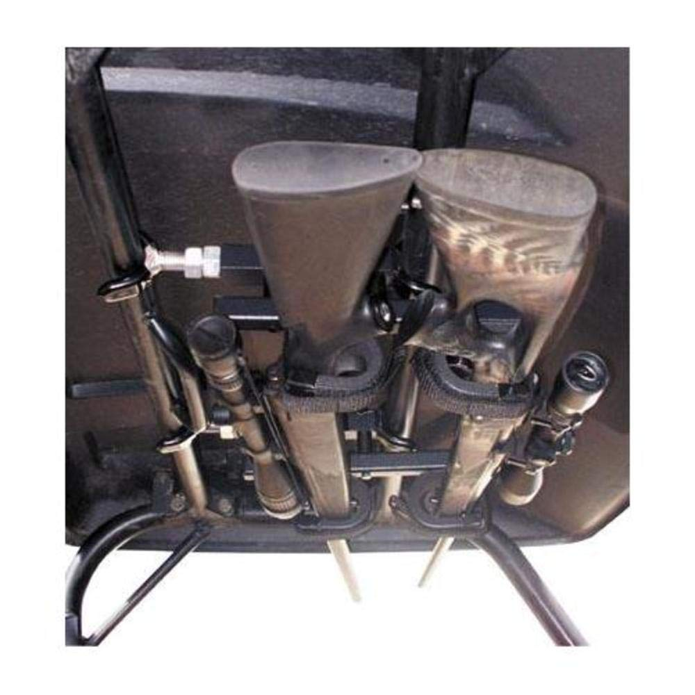 Quick-draw Overhead UTV Gun Rack (QD850-OGR - UTV's with 23inch-28inch rollbar depth) by Great Day