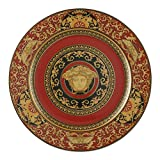 Versace by Rosenthal Medusa Red Service Plate