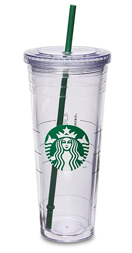 5c282e27bc1 Amazon.com: Starbucks Cold Cup Venti 24 oz: Kitchen & Dining