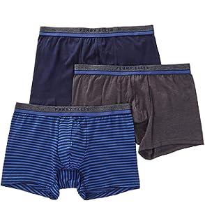 Amazon Com Perry Ellis Men S 3 Pk Identity Trunk Clothing