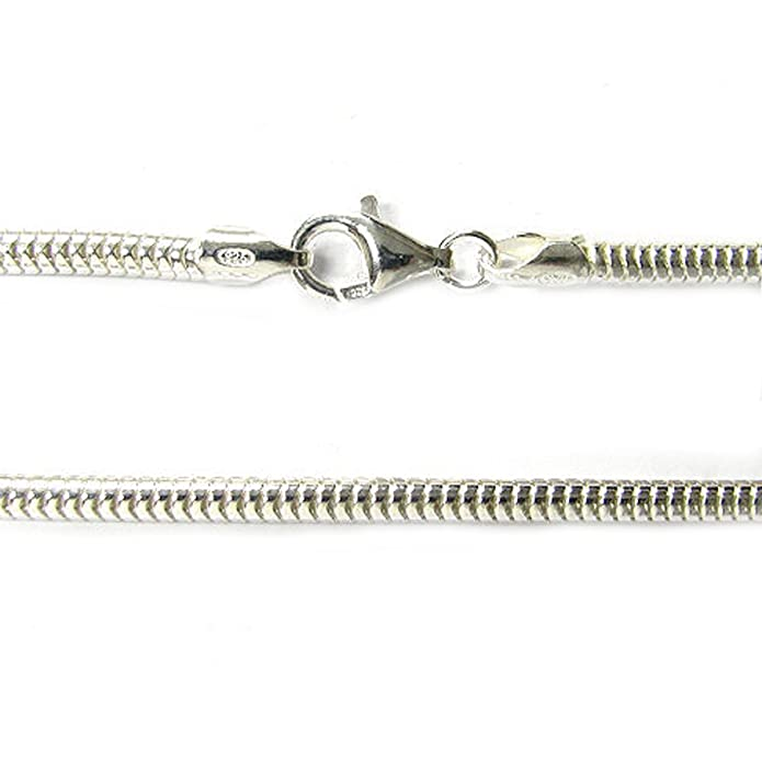 Amazoncom Sterling Silver Snake Cable Bracelet With Lobster Clasp - Medical records fee invoice template pandora store online