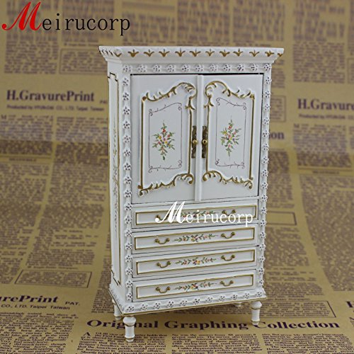 Fine 1:12 Scale Dollhouse Miniature Furniture White Collection ()
