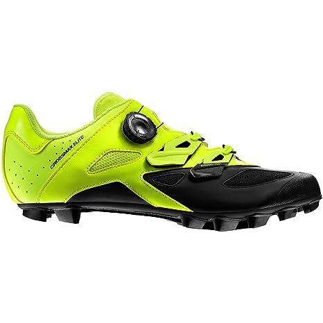 Mavic Crossmax Elite - Zapatillas Hombre - Amarillo/Negro Talla del Calzado UK 8 |