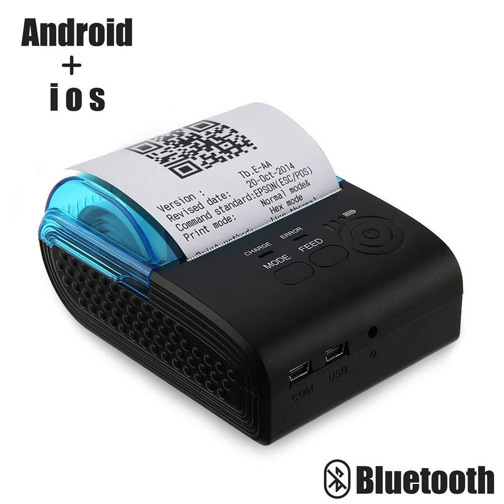 Impresora térmica portátil de recibos térmicos Bluetooth 4.0 ...