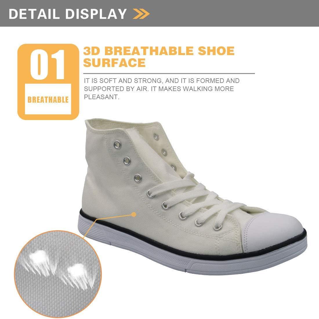 zhangfengjiao 3D Hip-hop stijl canvas schoenen, skateboard schoenen voor mannen en vrouwen op de straat, ondersteuning patroon aanpassing 44 werven