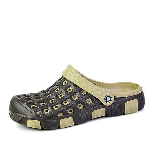 sandalias de verano ocasionales/ Crocs moda/Zapatillas y sandalias de playa-A Longitud