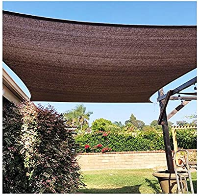 Yang 95% Marrón Sombra Neta - Balcón Jardín Sombra Neta Tonos Suculentos Espesado Techo Sala De Sol Aislamiento Protector Solar Red Doméstica (tamaño Múltiple) (Size : 1×1m): Amazon.es: Jardín