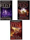 Darkwar Saga: Flight of the Nighthawks, Into a Dark Realm, Wrath of a Mad God (3 Volumes)