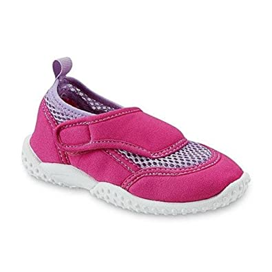 557c8c87fa42 Image Unavailable. Image not available for. Color  Athletech Girl s Swim  Pink Water Shoe ...