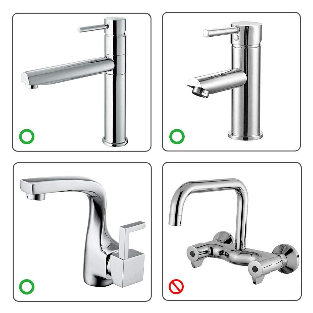 4 Pack Leaf Design Faucet Extender, Sink Handle Extender, Safe Fun Baby Hand-Washing Solution for Babies, Toddlers, Kids and Children