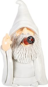 Wizard Gnome Naughty Garden Yard Gnome Statue Funny Resin Figurine Home Decoration for Lawn Yard Ornaments Indoor or Outdoor Decorations (Vivid Gnome)