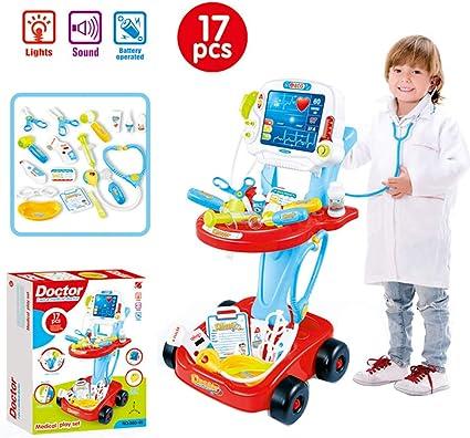 Training Equipment Stethoscope Toy Kids Pretend Medical Toys Plastic Fashion