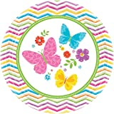 Best Sunday Inc Picnic Tables - Amscan Celebrate Spring Round Paper Dessert Plates Disposable Review