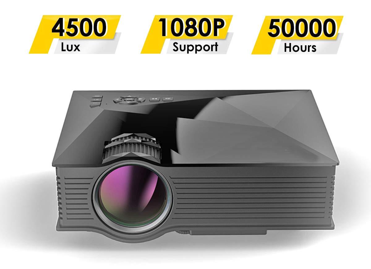 Mini Proyector Portátil WiFi DLP HD Pico 3D Video Pocket Projector ...