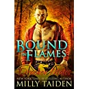 Bound in Flames: Paranormal BBW Shapeshifter Dragon Romance (Drachen Mates Book 1)