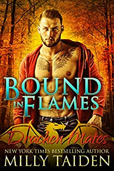 Bound in Flames: Paranormal BBW Shapeshifter Dragon Romance (Drachen Mates Book 1) by [Taiden, Milly]