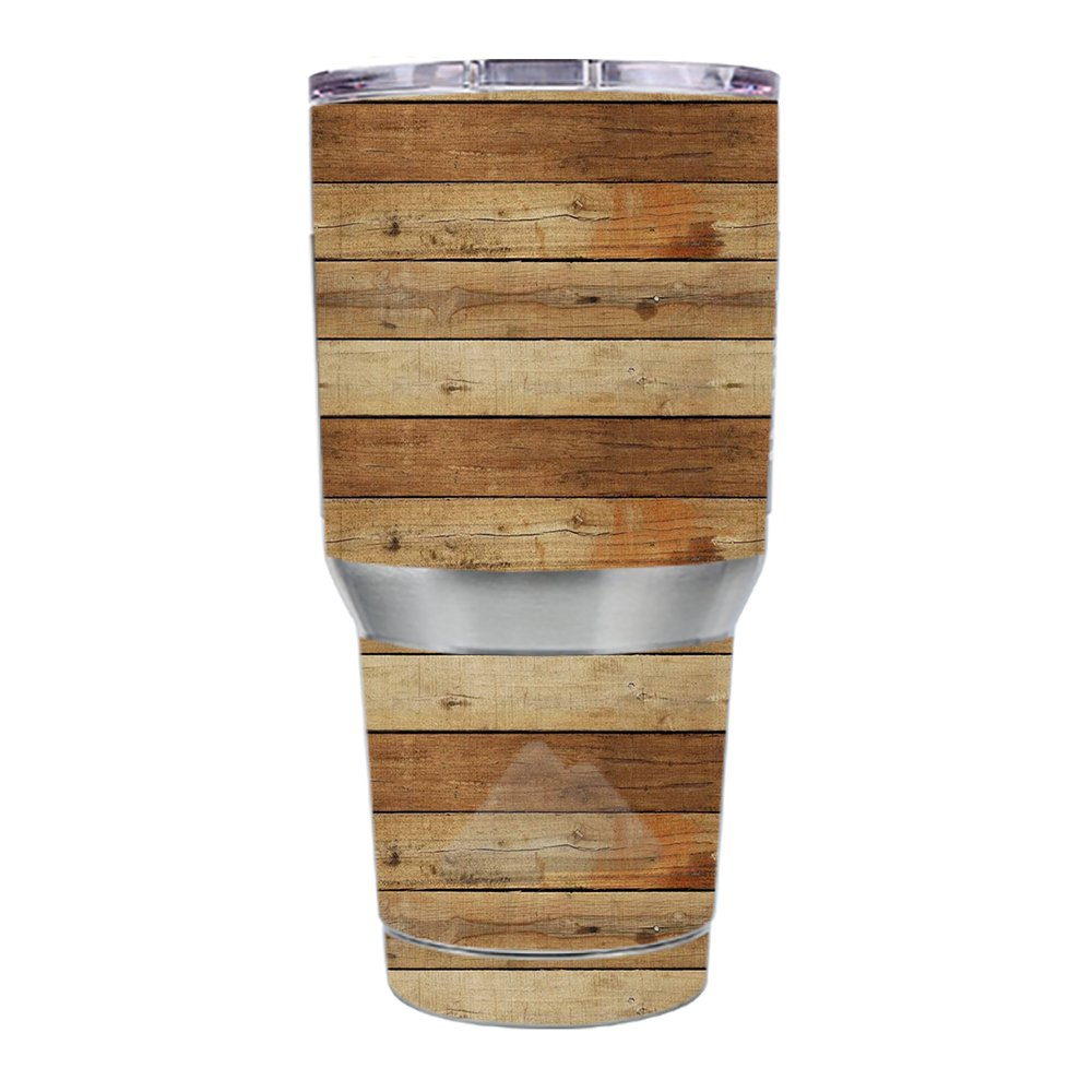 Skin Decal Vinyl Wrap for Ozark Trail 30 oz. Tumbler skins stickers cover / Wood Panels Plank