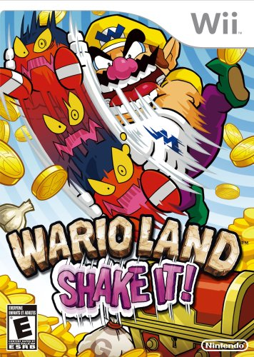 Wii Wario Land Shake It - Wii U [Digital Code] by Nintendo