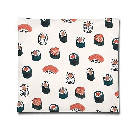 Karen Felix Funda de cojín de salmón, decoración del hogar ...