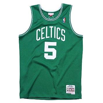 1d63b59a Mitchell & Ness Kevin Garnett #5 Boston Celtics 2007-08 Swingman NBA Jersey  Green