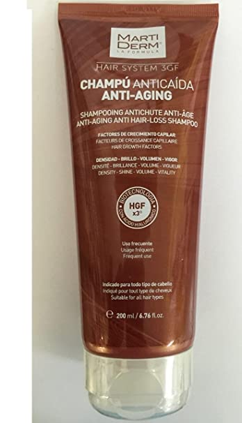 MARTIDERM ANTI-SEBUM ANTI HAIR-LOSS SHAMPOO 400ml 13.52 fl.oz.Treatment