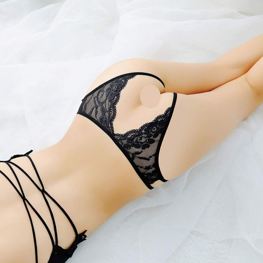 KHUFUZI Women\'s Sexy Lingerie Cosplay Pole-Dance Dress Sleepwear Gift for Girlfriend (Black)