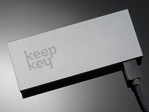 Keepkey Hardware Wallet para almacenar criptomonedas como Bitcoins, Ethereum (ERC20) y otros Altcoins + BONUS Frisbee