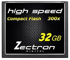 Zectron Trade Twin Pack 2 x 32GB 64GB in Total Professional CF Compact Flash High Speed Memory Card Canon EOS 7d DIGITAL CAMERA