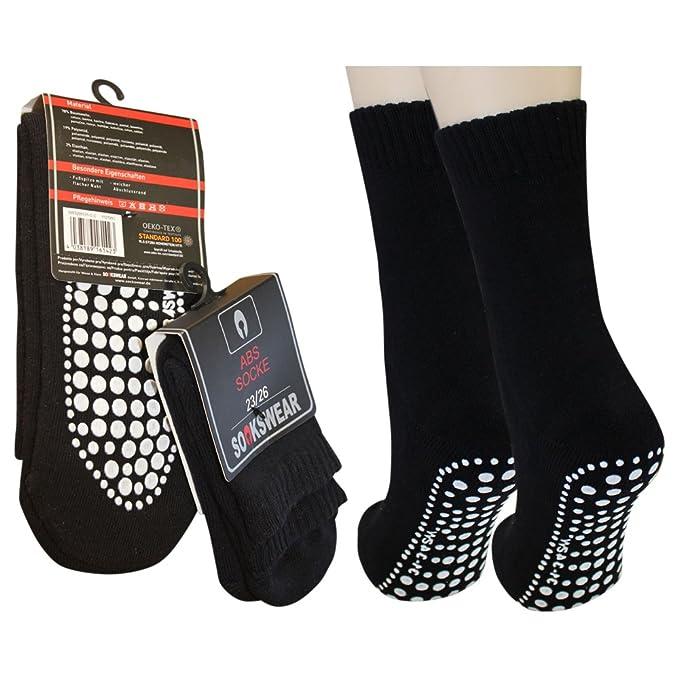 3 Paar ABS Homesocks Socken mit Noppen für Zuhause
