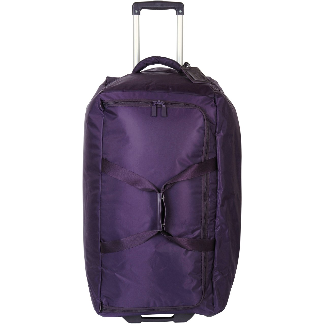 Lipault Duffle Bag Luggage Foldable 2 Wheeled Suitcase  Purple, 30 inch by Lipault