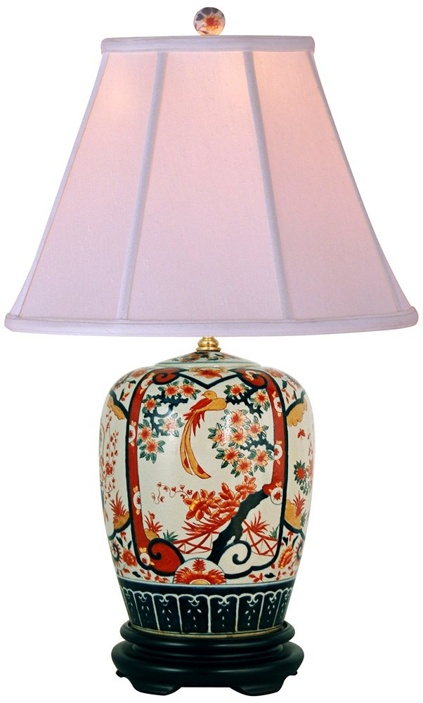 Amazon imari ginger jar porcelain table lamp home kitchen mozeypictures Images