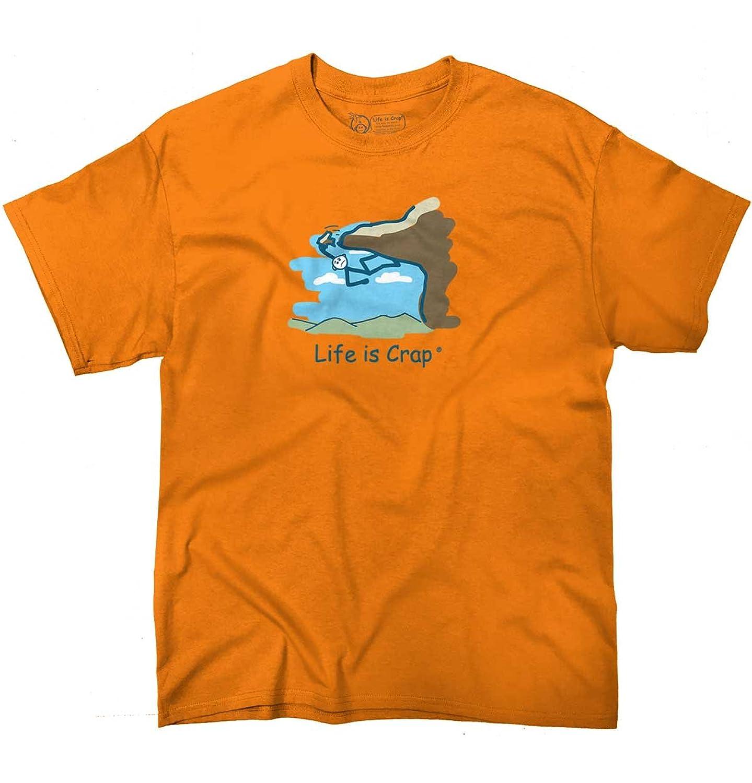 Life IS Crap Rock Climb Good Life Funny Shirts Gift Ideas T-Shirt Tee