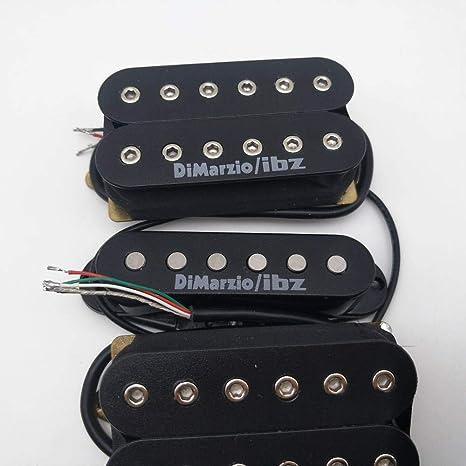 DiMarzio/IBZ Alnico - Pastillas para guitarra eléctrica HSH N/M/B ...
