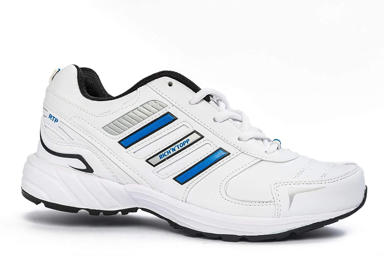 White Mesh Running Sport Shoes