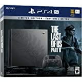 PlayStation 4 Pro 1TB Limited Edition The Last of Us Part 2 Console Bundle - Black