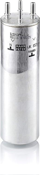 Original Mann Filter Kraftstofffilter Wk 857 1 Für Pkw Auto
