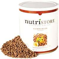 Nutristore Freeze Dried Ground Beef Premium Quality | USDA Inspected | Amazing Taste | Perfect for Camping | Survival Food